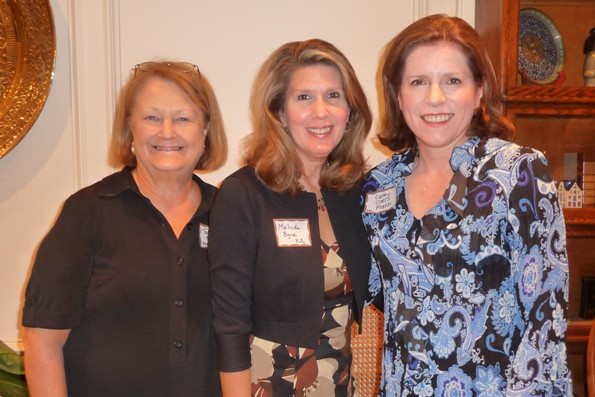 Polly Kent, Melinda Byrd, Cathy Frank