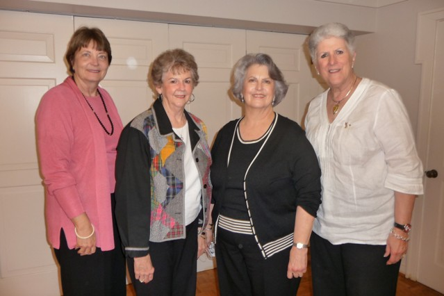 Kenna Worthington, Sharon Shelton Pease, Toni Post, Judy Harwell