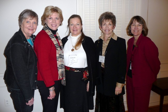 Judy Lupo, Leslie Creel, Jane Brownlee, Pam Staples, Tina Melo